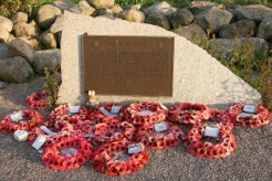 Operation Tiger Memorial, Torcross, to the American Soldiers and Sailors who perished in 1944, in Lyme Bay