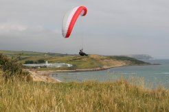 Paraglider, Bowleaze Cove, Weymouth