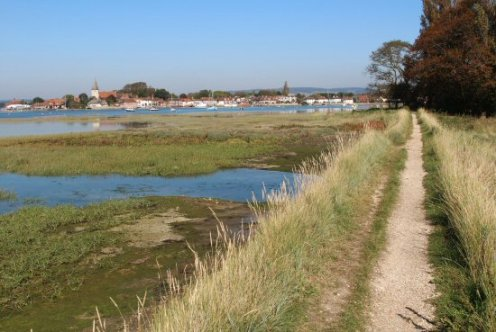 Path, Bosham Harbour, Bosham