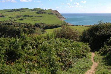 Path from Golden Cap to Seatown