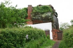 Path to lower Rock Houses, Holy Austin Rock, Kinver Edge