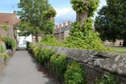 Path to Priest Row, from Bubwith Almshouses, Wells