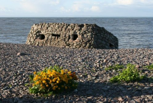 Pillbox, Porlock Weir Beach, Porlock Bay, Exmoor