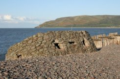 Pillbox, Porlock Weir Beach, Porlock Bay, Exmoor