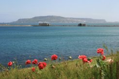 Portland, from Nothe Gardens, Weymouth