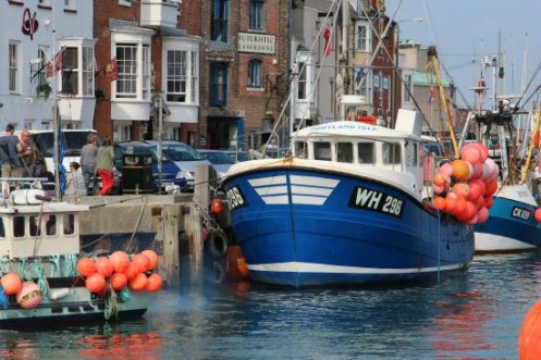 'Portland Isle' fishing boat, Harbour, Weymouth