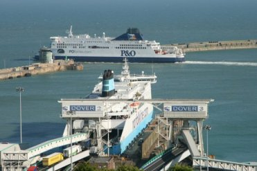 'Pride of Kent', P&O Cross Channel Ferry, Dover Harbour, Dover