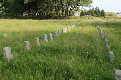 Prisoners' graves, St. Michael and All Angels Churchyard, Princetown