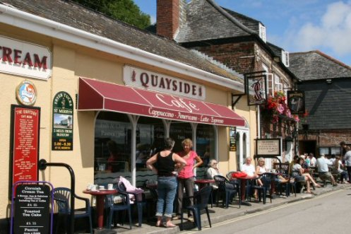Quayside Cafe, North Quay, Padstow