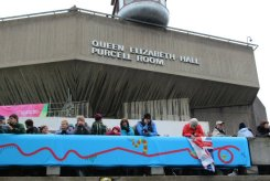 Queen Elizabeth Hall, Queen's Diamond Jubilee, Thames Pageant