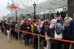 Queuing, London Eye, Queen's Diamond Jubilee, Thames Pageant