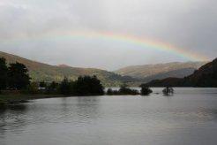 Rainbow over Ullswater, Glenridding