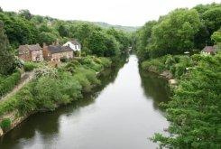River Severn, from The Iron Bridge, Ironbridge