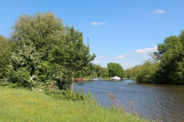 River Thames, from Dumsey Meadow, Chertsey