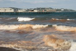 Rough sea, Paignton