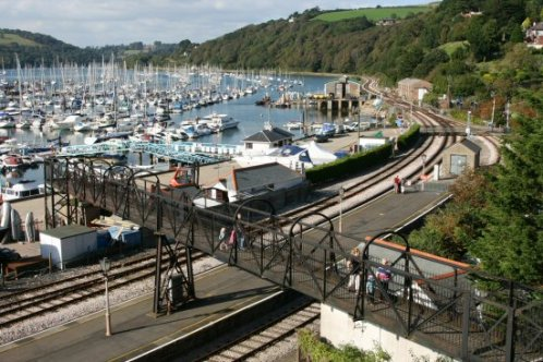 Paignton and Dartmouth Steam Railway, Kingswear Station, Kingswear