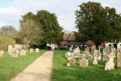 St. Mary and St. Melor Churchyard, Amesbury