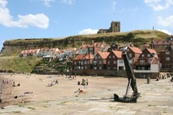 Tate Hill Sands, (Collier Hope) Whitby. As featured in Bram Stoker's, 'Dracula'