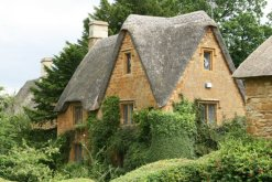 Thatched cottage, Great Tew