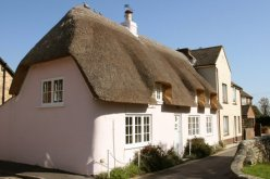Thatched cottage, Church Lane, Wareham