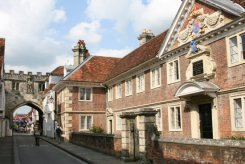 The College of Matrons and High Street Gate, The Close, Salisbury