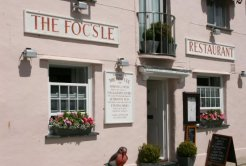 The Fo'c's'le Restaurant, North Quay, Padstow