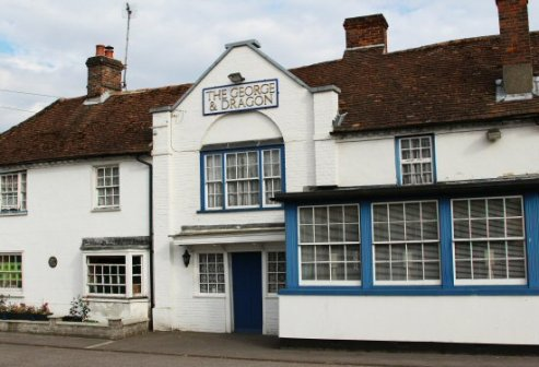 The George and Dragon, Hurstbourne Tarrant