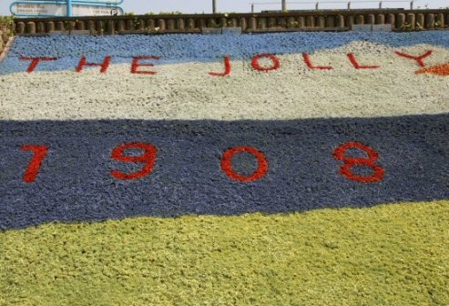 The Jolly Fisherman Centenary Flower Beds, 1908-2008, Skegness