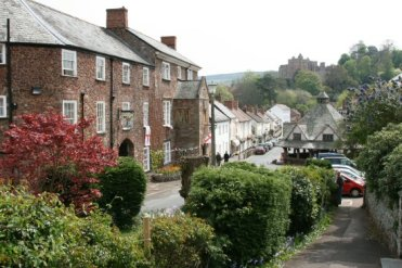 The Luttrell Arms Hotel and Yarn Market, High Street, Dunster, Exmoor