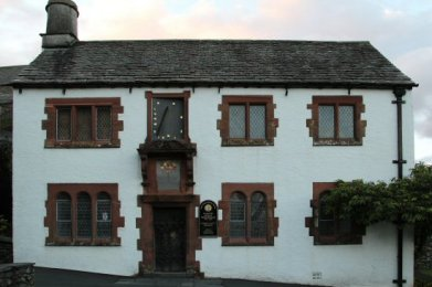 The Old Grammar School, attended by William Wordsworth, Hawkshead