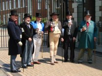 Characters from The Pickwick Papers. Charles Dickens' Festival, Rochester