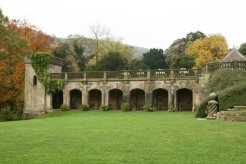 The Terrace, Ilam Hall, Ilam Park, Ilam, Peak District