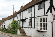 Timber framed cottage, High Street, Old Oxted