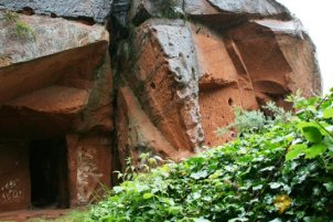 Upper level, Rock Houses, Holy Austin Rock, Kinver Edge