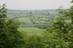 View from Wenlock Edge, near Presthope