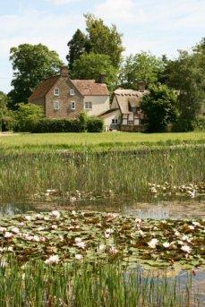 Village pond and Rosamund's Green, Frampton on Severn