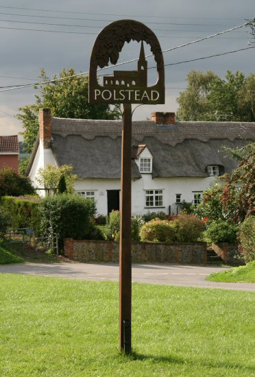 Village sign, Polstead