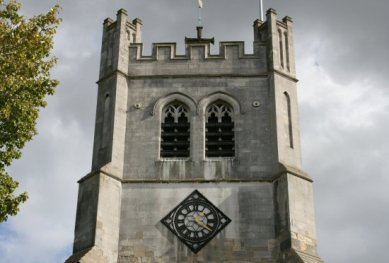 West Tower, Waltham Abbey Church, Waltham Abbey