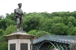 War Memorial and The Iron Bridge, Ironbridge