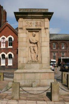 War Memorial, Burslem, Stoke-on-Trent