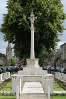 War Memorial, Church Green, Witney