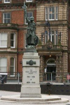 War Memorial, Hanley, Stoke-on-Trent