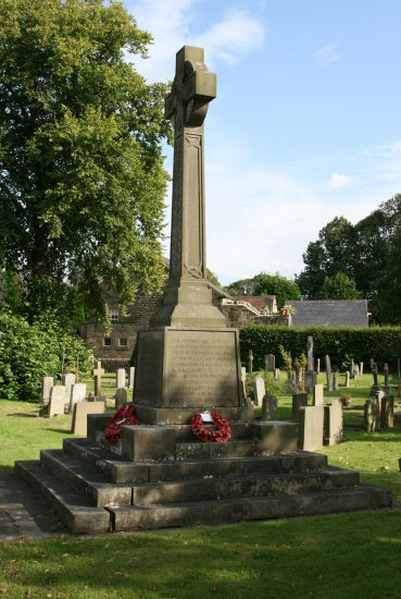 War Memorial, St. Anne's Churchyard, Baslow