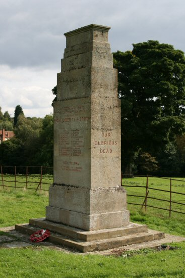 War Memorial, St. Mary's Churchyard, Polstead