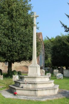 War Memorial, St. Nicholas Churchyard, Wickham