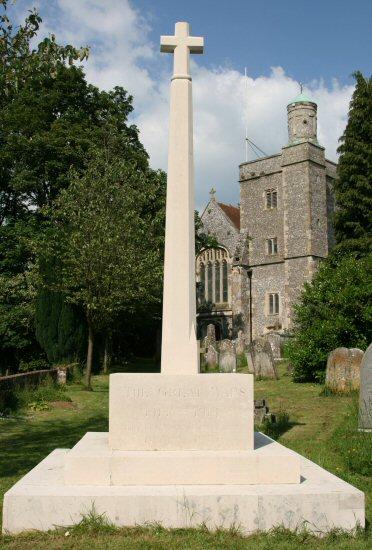 War Memorial, St. Peter's Churchyard, Bishop's Waltham