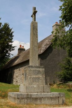 War Memorial, St. Winifred's Churchyard, Manaton
