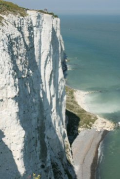 White Cliffs of Dover, near South Foreland Lighthouse, Dover