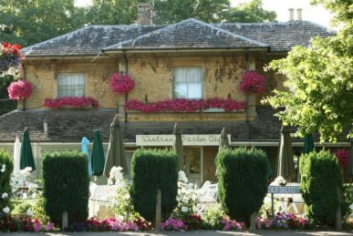 Windrush Garden Cafe, Bourton-on-the-Water, Cotswolds