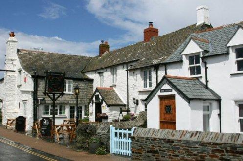Ye Olde Malthouse Inn and Rose Cottage, Tintagel